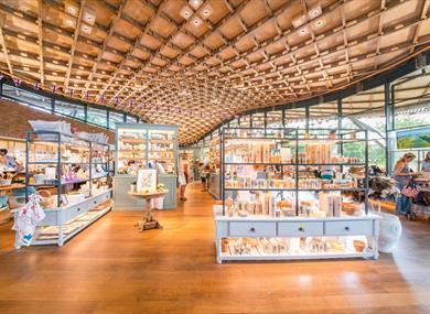 The Savill Garden Shop in The Savill Building