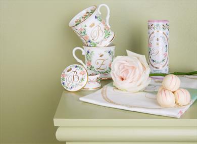 Commemorative china and souvenirs to celebrate Princess Beatrice and Mr Edoardo Mapelli Mozzi's wedding
