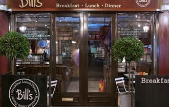 Bill's Windsor: exterior of restaurant