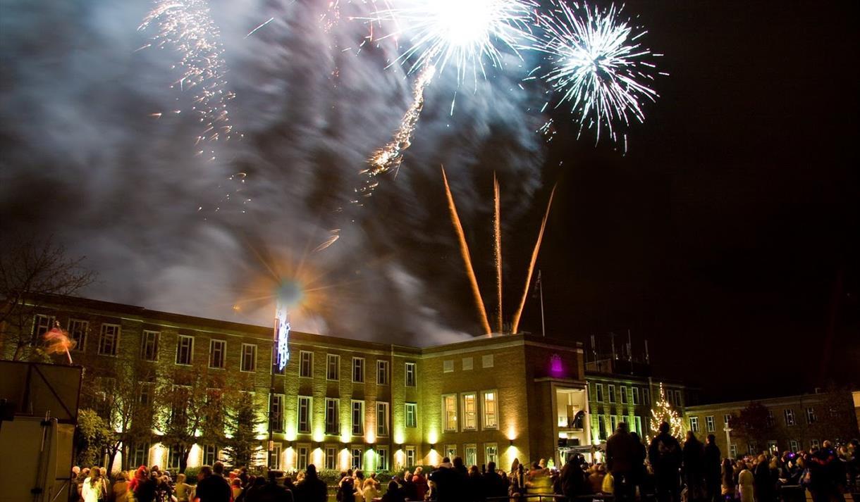 Maidenhead Christmas Light switch on event