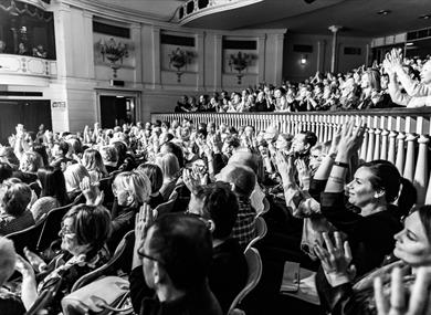 Theatre Royal Windsor audience