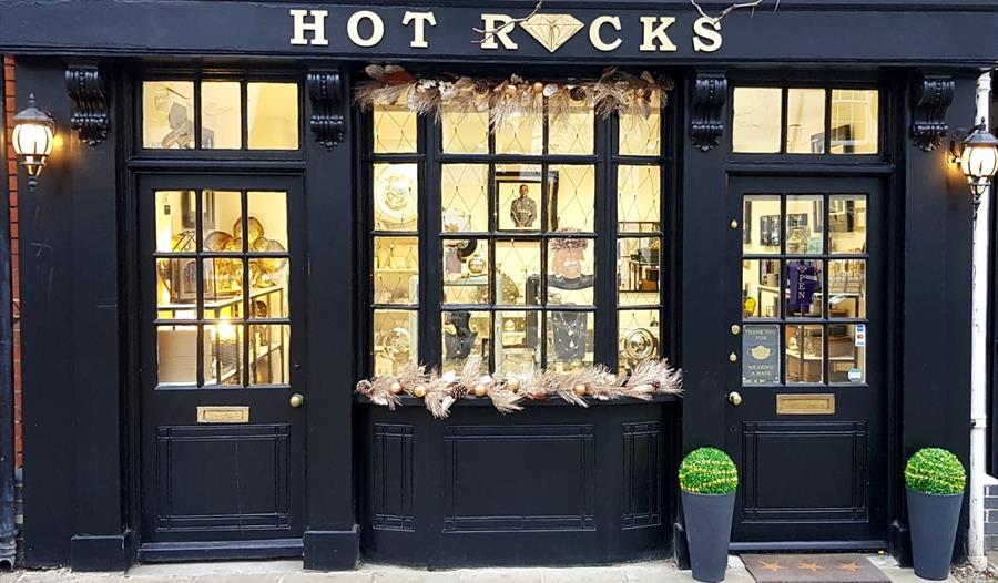 Hotrocks exterior