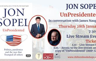 Jon Sopel UnPresidented in conversation with James Naughtie