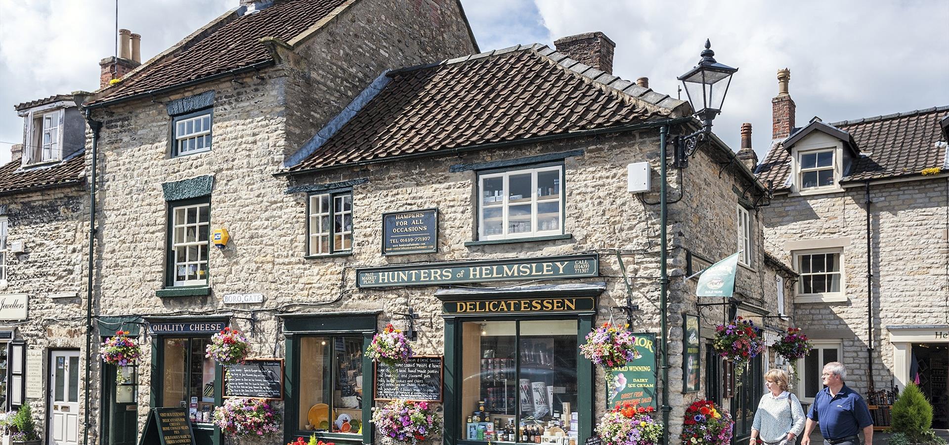 An image of Helmsley by Richard Burdon