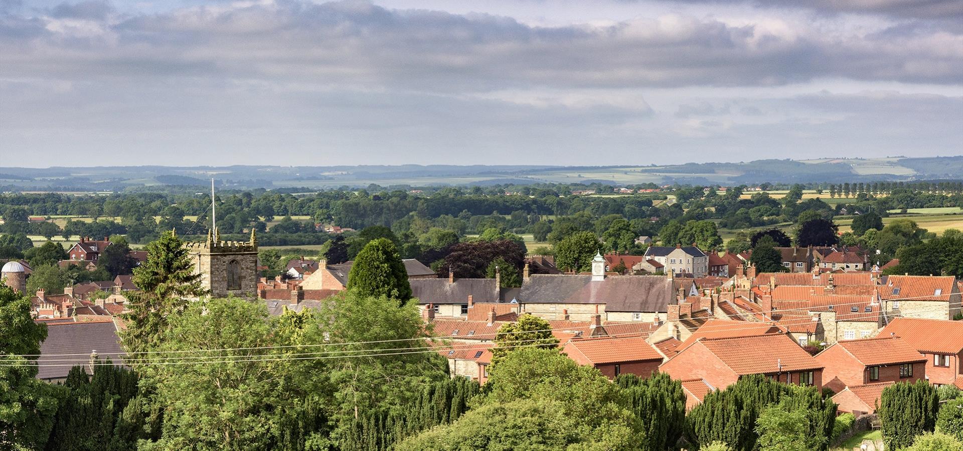 An Image of Kirkbymoorside by Richard Burdon