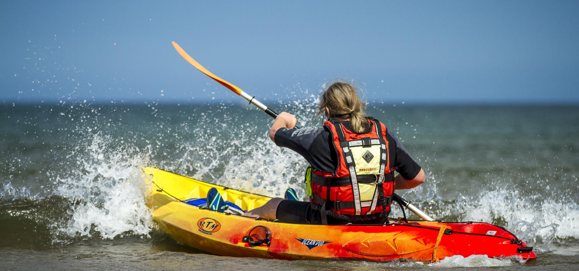 An image of Kayaking by Chris Lazenby
