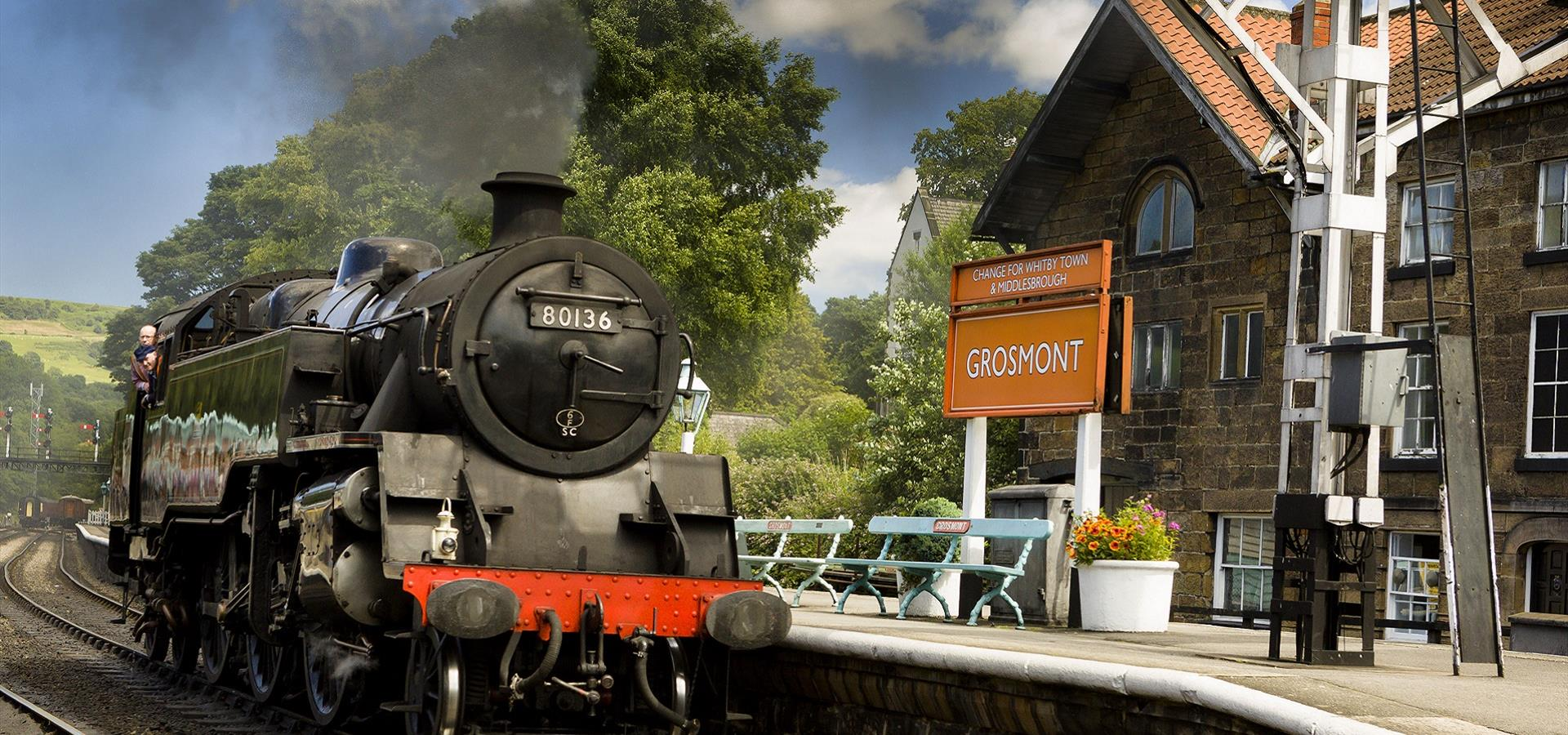 An image of North York Moors Railway by Ebor Images