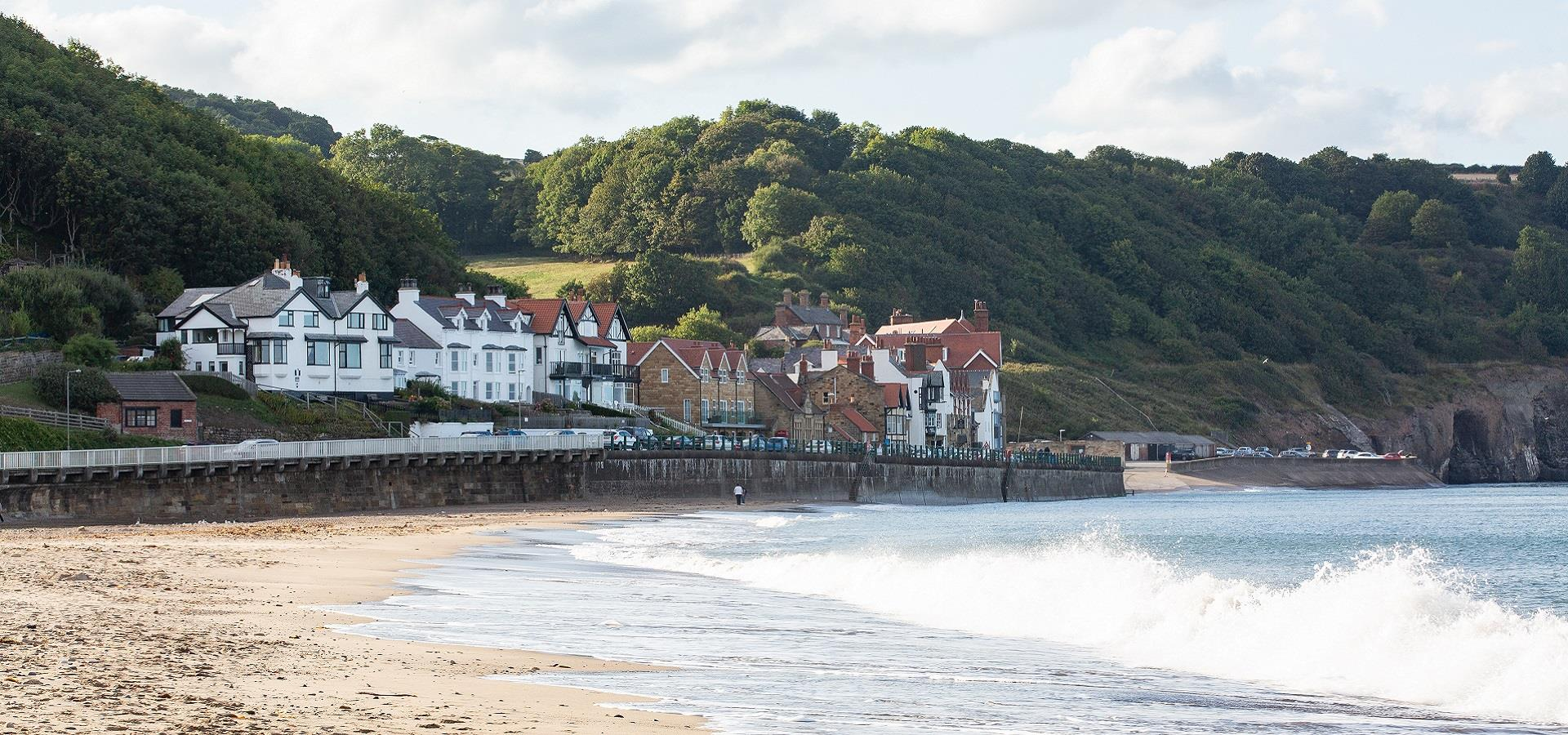 Sandsend Beach by Ravage Productions