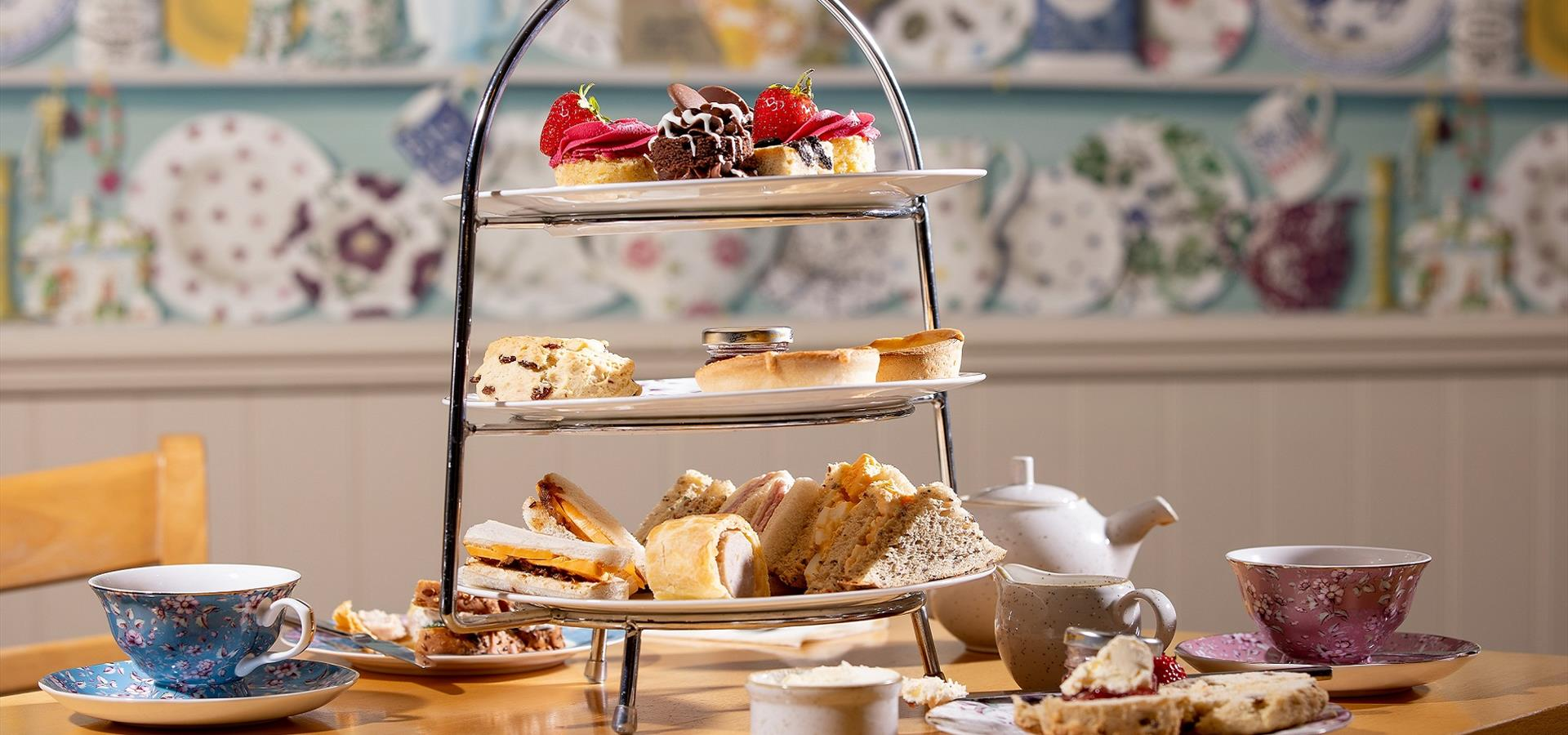An image of Afternoon Tea in Scarborough - By Charlotte Graham