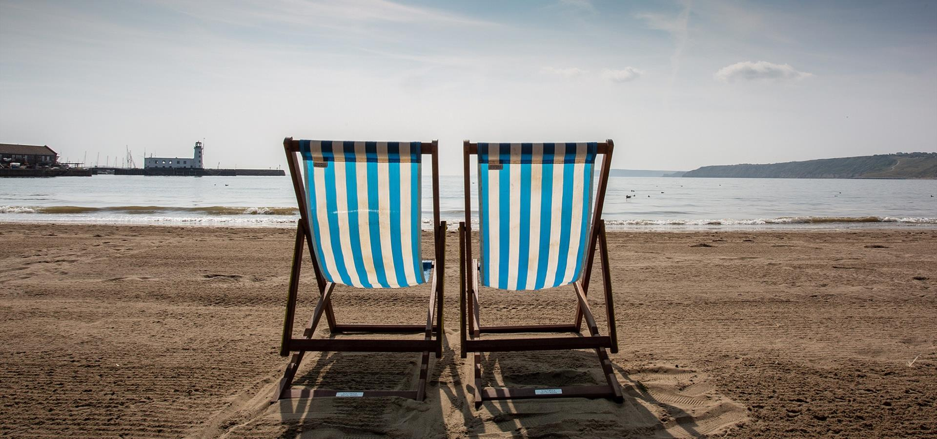 An image of Scarborough South Bay Deck Chair - By Ravage Productions