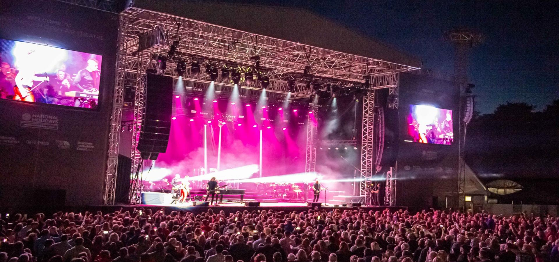 An image of Queen Machine at Scarborough Open Air Theatre