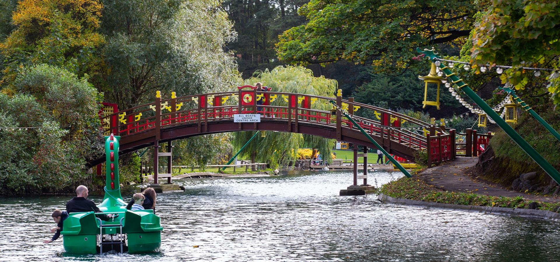 An image of Peasholm Park, Scarborough by Ravage Productions