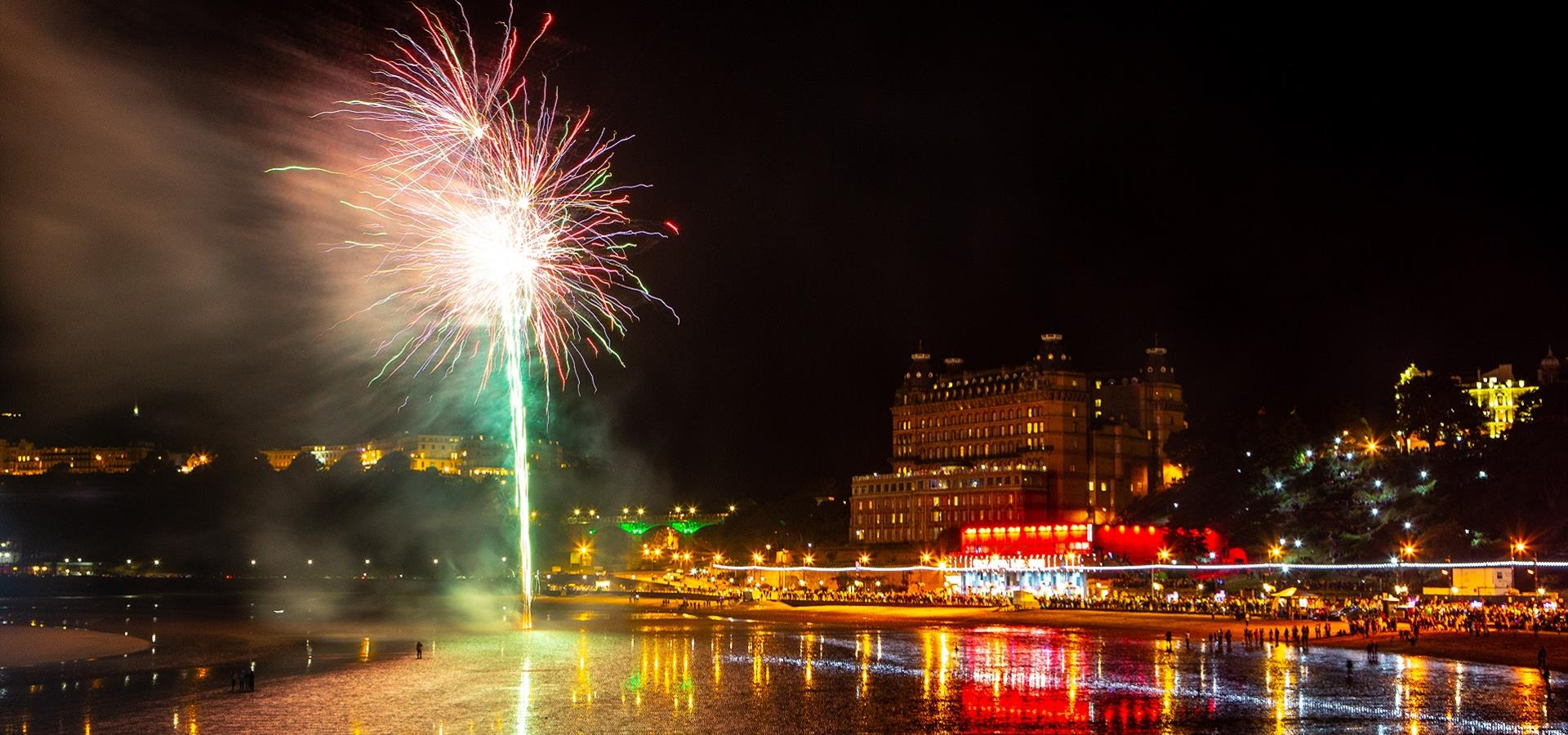 An image of Fireworks on Bonfire Night by Ravage Productions