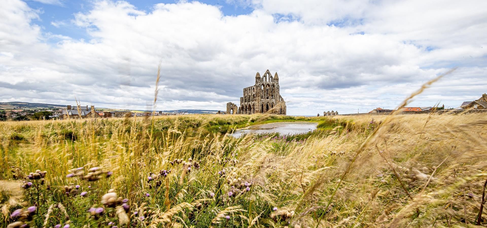 An image of Whitby Abbey - Charlotte Graham