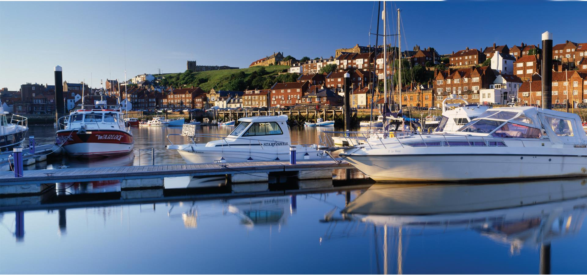 An image of Whitby Harbour