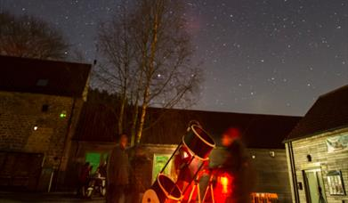 An image of Stargazing in the North York Moors National Park - Photography by Steve Bell & NYMNP