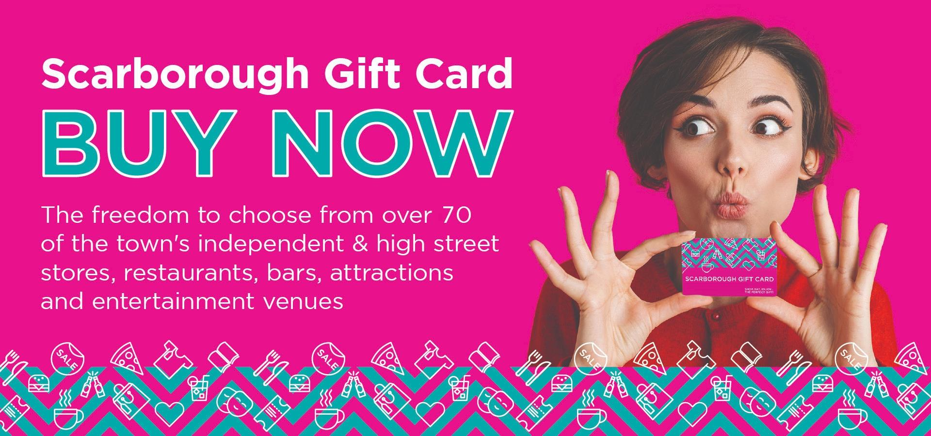 Scarborough Gift Card Graphic