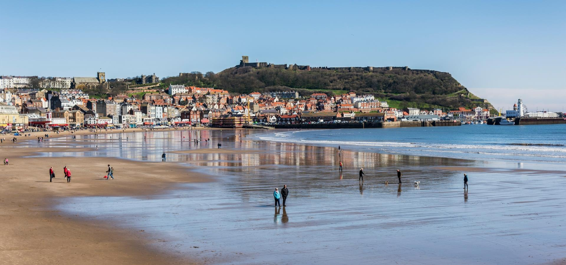 An image of Scarborough South Bay Beach by Duncan Lomax
