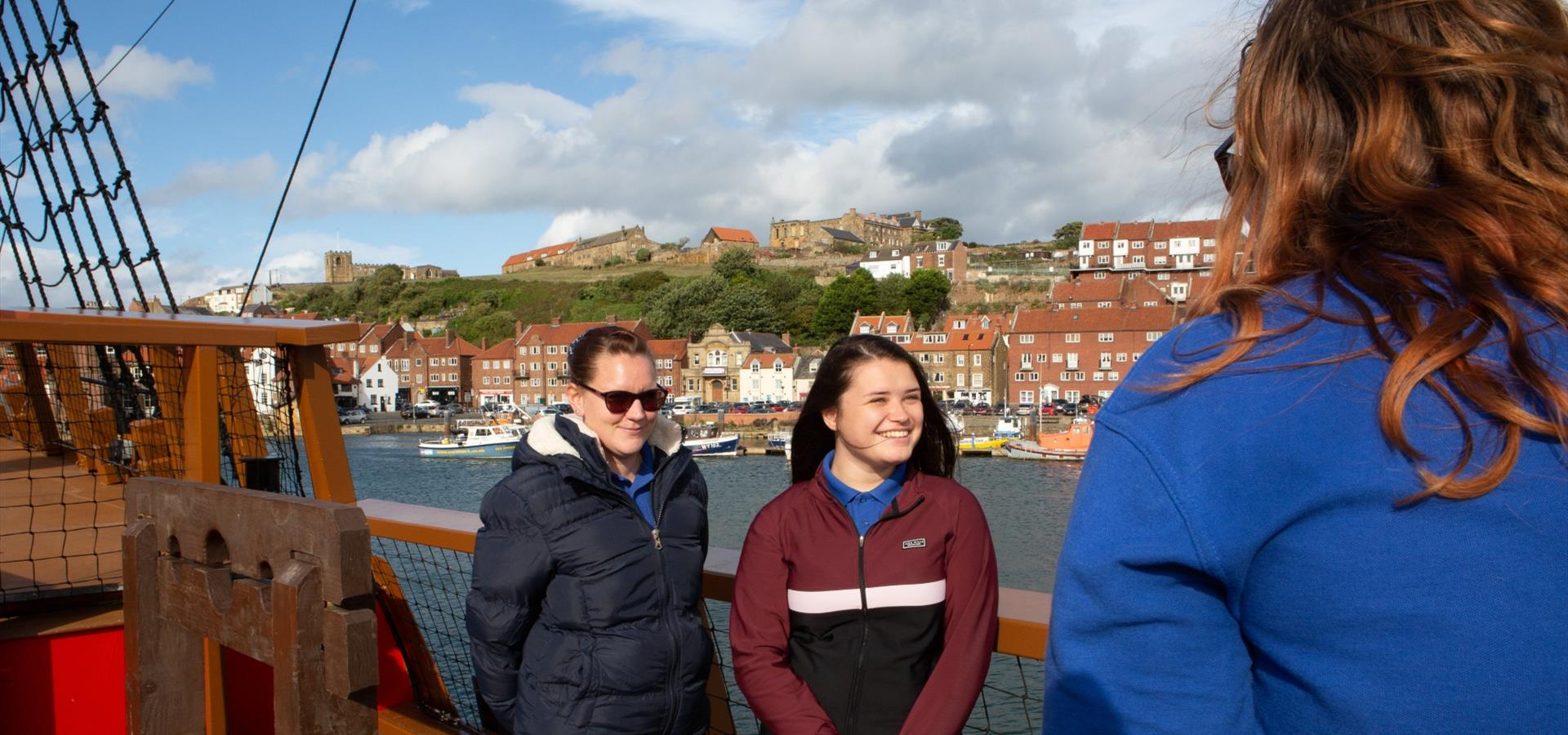 An image of a tour on the Whitby Endeavour by Duncan Lomax