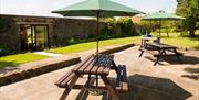 image of gowland farm cottages garden