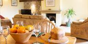 Keld Head Farm Cottages - Smithy Lounge