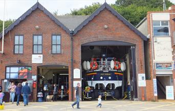 An image of Filey Lifeboat House