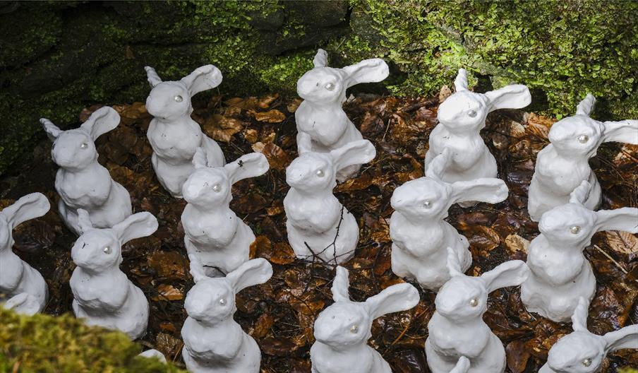 Layla Khoo's 'Custodians' at Dalby Forest