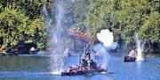 Peasholm Park Naval Warfare - Battle of Peasholm