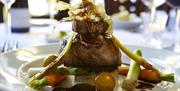 An image of the food at Wrea Head Hall Country House Hotel
