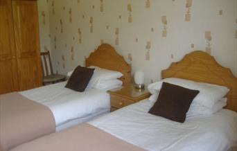 An image of South Moor Farm bedroom