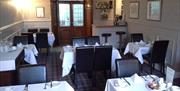 Image of the dining room at the Arundel