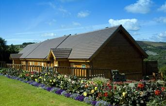 An image of Raven Hall Lodges