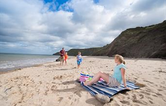 Cayton Bay Beach at Cayton Bay Parkdean resort