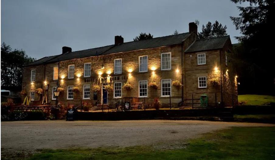 An exterior image of White Horse Farm Inn