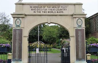Memorial Gardens - Filey