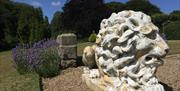 An image of the gardens at Wrea Head Hall Country House Hotel