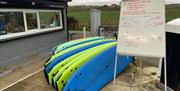 image of surf boards