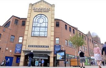 An image of Brunswick Shopping Centre