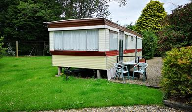 An image of North End Farm Stable View Caravan
