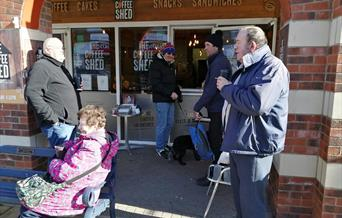 An image of the Coffee Shed Filey