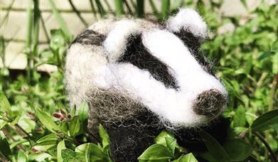 Needle Felting Workshop - Badger