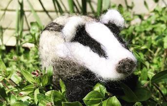 Needle Felting Workshop - Badger
