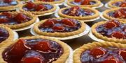 An image of Strawberry Tarts at Botham's Enterprise Way Shop