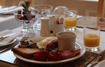 Athol House Guest House Breakfast