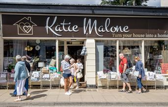 An image of the exterior of Katie Malone