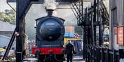 An image of the North Yorkshire Moors Railway