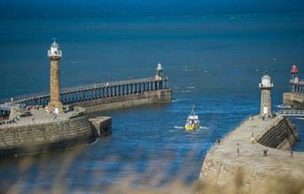 Image Whitby Piers