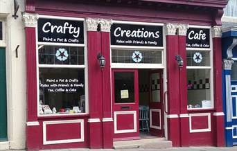 An Image of Crafty Creations Cafe
