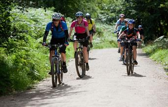 Dalby Forest Loop Cycle Route - Credit Mike Kipling