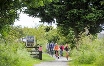 Cycling on the Cinder Track Credit Tony Bartholomew